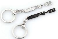 emblemas de la insignia clave al por mayor-Llavero del coche Llavero AMG Insignia Emblemas de coches para Mercedes Benz A45 SLS AMG E63 Titular de la Llave Accesorios Auto Car Styling