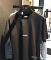 renk değeri toptan satış-3002 aape renk serin erkek taylor kanye west Yüksek Kaliteli kanye hip hop çift pamuk kısa kollu, değer için para erkekler ve kadınlar T-shirt