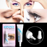 3d255d9d700 Practical Eyelash Glue Clear-white Dark-black Waterproof False Eyelashes  Makeup Adhesive Eye Lash Glue Easy to Remove Cosmetic Makeup Tools