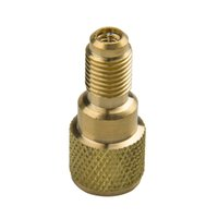 """Wholesale Male Vacuum Pumps - Brass Adapter R134a Brass Adapter 1 4"""" Male to 1 2"""" ACME Female Charging Hose to Vacuum Pump"""