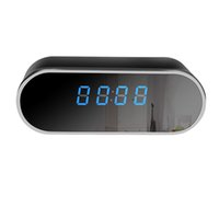 Wholesale Spy Hidden Camera Alarm Clock - WiFi Hidden Spy IP Camera Alarm Clock Wireless Camera with Motion Detection,Night Vision,Realtime Video,Covert Nanny Cam for Home Security