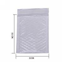 weiße blasenumschläge großhandel-Großhandels- 10X Kawaii imprägniern weiße Perlen-Film Bubbel 11 * 15 Umschlag Bulle Beutel-Versander gepolsterte Verschiffen-Umschläge mit Luftblasen-Versandtaschen