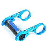 Wholesale middle bracket - TrustFire HE01 MTB Bike Bicycle Light Handle Bar Mount Bracket Holder BLUE