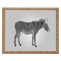 tecido de zebra venda por atacado-Zebra branca pintura animal DIY 5D diamante costurado circular 3d diamante tecelagem conjunto de ferramentas diamante decoração do quarto do mosaico sem moldura.