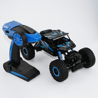Wholesale bigfoot car resale online - Eco Friendly ghz Rc Car wd Rock Crawlers Rally Climbing Car Double Motors Bigfoot Car Remote Control Off Road Vehicle Toy