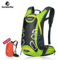 yürüyüş sırt çantası yağmurluk toptan satış-ANMEILU Marka Açık Bisiklet Yürüyüş Sırt Su Geçirmez MTB Yol Dağ Bisikleti Su Çanta Tırmanma Bisiklet Sırt Çantası Yağmur Kapağı