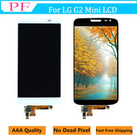 Wholesale lg g2 screen panel online - Original LCD Screen For LG G2 mini D620 D618 Touch display Digitizer Assembly inch Cellphone Touch Panels