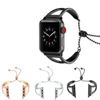 Wholesale fashion watches links online - Fashion Stainless Steel Watch Band Strap For Apple Watch mm mm Link Bracelet Replacement Watchband For Iwatch Serise