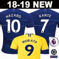 2018 2019 FC 10 HAZARD Soccer Jersey Men Blue Premier League 29 MORATA 3  Marcos Alonso 22 WILLIAN PEDRO Football Shirt Kits Uniform eb044ab4a