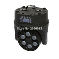 Wholesale Led Spot Club Lights - Free shipping led moving head beam spot wash light 6*15w rgbw 4IN1 Bees Eyes LED Moving Head Lights for DJ disco club