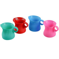 Wholesale dress plastics for sale - Silicone Baking Cup Polychromatic Environmental Protection Nontoxic Dressing Cups For Kitchen Tool Herb Spice Tools Special js V
