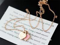 tansanit silber anhänger großhandel-Diamant und Tansanit öffnen Cluster Halskette Liebe Herz Tag Schlüsselanhänger Silber 925 Anhänger Halsketten Armbänder Ringe Charme