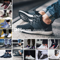 Wholesale Light Blue Color - New Ultra Boost 2.0 3.0 4.0 UltraBoost mens running shoes sneakers women Sport Tri-Color NMD R2 CNY Dog Snowflake Core Triple Black White
