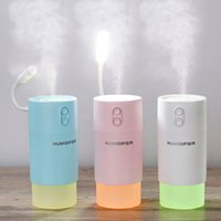 Wholesale new health care online - New creative snowflake humidifier home desktop three in one silent mini usb humidifier for health care