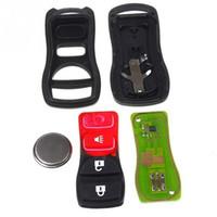 Wholesale parking alarm online - 3 Button Remote Key Keyless Entry Fob Transmitter Clicker car Beeper Alarm For Nissan MHZ KBRASTU15