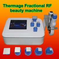 Wholesale microneedle therapy machine - thermage rf frequency machine microneedle therapy system wrinkle removal fractional rf face lifting machine tighten body skin