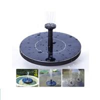englische gartenarbeit großhandel-Neue Solarwasserpumpe Power Panel Kit Brunnen Pool Gartenteich Tauchbewässerung Display mit Englisch Manaul