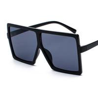 06778279bd7c2 Extra Big lunettes de soleil pour femme et homme Mesdames surdimensionnés  Shaes vente en gros Fashion Cheap Designer lunettes de soleil à chaud  marque Big ...