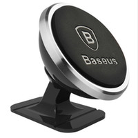 Wholesale phone holder gps for sale – best Baseus High Quality Car Phone Holder Degree GPS Magnetic Moblile Phone Holder For iPhone xs Samsung s9 Air Vent Mount Stand