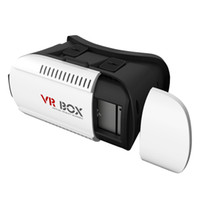 Wholesale mobile 3d box online - 3D VR Box Headset Virtual Reality Glasses VR Goggles Cardboard Virtual Glasses D for Mobile Phone