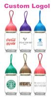 copas de pinguino al por mayor-Custom Glass Bottles Penguin Cup Regalo Custom Impreso Onion Head Bottles Gift Cup Publicidad Taza Custom Logol Siete colores mezclados RE334