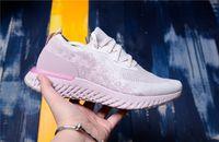 ingrosso scarpe da basket correre-Nike epic react flyknit  Scarpe da corsa da donna Scarpe da ginnastica epici React Scarpe da corsa sportive da uomo Fashion Runner da uomo
