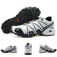 """Wholesale hot fence - Salomon Shoes Speed Cross 3 CS III Free Run Lightweight Sport Shoes Hot Sale Red Breathable Outdoor Sneakers Men Fencing Shoes"""""""