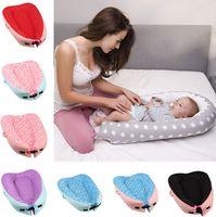 ingrosso sedile di fagioli-16 colori Baby Bean Bag Snuggle Lettino portatile sedile multifunzionale sonno rimovibile e lavabile bambino beanbag 40pcs T1G119