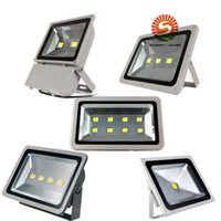 Wholesale Led Open Outdoor Sign - new open AC85- 265V 10W 20w 30w 50W 70w 100w 150W 200W LED flood light spot light projection lamp Signs lamp Waterproof outdoor floodlightS