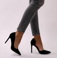 as bombas das mulheres abrem os sapatos individuais venda por atacado-Mulheres Bombas Sexy Aberto Toe Rendas Moda Dedo Apontado Salto Alto Novo Estilo Raso Clássico Primavera Outono Sapatos Único Senhoras