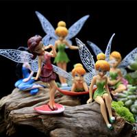 12 hadas al por mayor-Hermoso Kawaii 12 piezas Modelos Hadas Miniaturas Jardín Princesa Artesanía Miniaturas de Hadas Figuras Decoración de Jardín R001