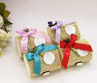 ingrosso forniture di nozze bambù-Scatole di caramelle di bambù Scatole di bambù di nozze creativi
