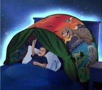 мечты ребенка оптовых-2018 новый стиль дети мечтают палатки световой мультфильм складная палатка открытый палатки детские игры спальный рай палатка