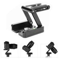 Wholesale professional camcorder tripods for sale - Group buy Folding Z Type Stand Holder Professional Tripod Kit Flex Tilt Head Pan Ball Head Folding Desktop Compatible Camera Camcorder