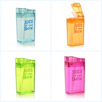 Wholesale test security for sale - Group buy Juice In The Box Water Bottle Leak Proof Kettle Security Non Toxic For Children With Multi Color Straw Bottles Portable lg jj