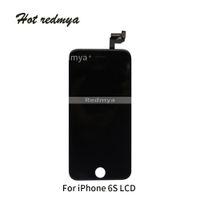 cadre d'écran i545 achat en gros de-LCD pour iPhone 6S Ecran LCD avec cadre complet Ecran tactile Digitizer Ecran Tactile Pièces de Rechange Assemblage Noir Blanc