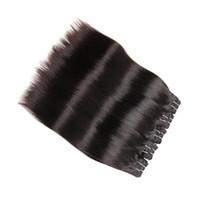 Wholesale Human Hair Weave Brands - wholesale 6a brazilian straight virgin hair 1kg 20bundles lot 100% natural human hair extensions weaves color 1b beautysister brand