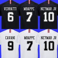 14c2fccad 2018 2019 PSG jordan third maillot MBAPPE soccer jersey CAVANI VERRATTI top  thailand 18 19 paris football shirt KIMPEMBE Camiseta de futbol