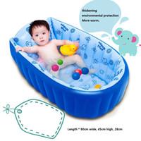 aufblasbarer babyspielplatz großhandel-Aufblasbares Kinderbecken Kinderbecken Kinderbadewanne