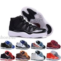 Wholesale Wine Boots - [With Box] New Wine Red XI 11 mens basketball shoes sneaker outdoor Velvet Heiress 11s High Quality Winter Boots trainer discount