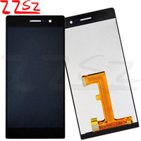 Wholesale original huawei ascend p7 resale online - Original New Brand Best Quality For Huawei Ascend P7 LCD Display Touch Screen With Digitizer Assembly with years warranty
