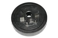 rueda de espigas al por mayor-Spur Sprocket Clutch Drum 6 Tooth para Zenoah G2000T Chainsaw Soplador Bush Trimmer reemplazo