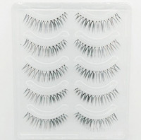 Wholesale brown lashes resale online - 3D Mink Hair False Eyelashes Natural Handmade Beauty Thick Long Soft Brown and Blac Mink Lashes Fake Eye Lashes Eyelash Sexy High Quality