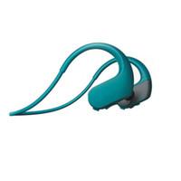reproductor de mp3 otg al por mayor-Ejecución de auriculares reproductor de música Mp3 NW-WS413 soporte de auriculares Mirco OTG altavoz estéreo SIN natación envío gratis