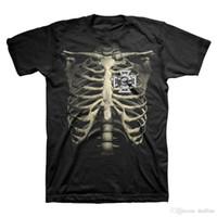 t-shirt à manches longues achat en gros de-2018 Nouvelle Marque T-shirt Hommes Black Label Society Cage Côtes T-ShirtCrew Neck Tee Shirt Court Régulier Pour Hommes
