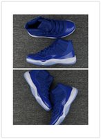 Wholesale good bond - Good Quality 11s 11 Dark Real Blue Mens Womens Basketball Shoes Midnight Navy Chicago Gym Red PRM Heiress Man Sports Sneakers Size 36-47