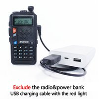 ingrosso caricabatterie per baofeng-Walkie talkie Cavo di ricarica connettore USB BaoFeng Walkie Talkie BAOFENG BF-UVB3PLUS 3800mAh Batteria