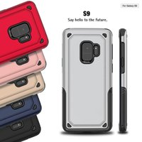futuro apple iphone al por mayor-Future Hybrid Heavy Duty Rugged Impact PC duro TPU suave carcasa trasera para iPhone X 8 7 6 5 SE Samung Galaxy S7 Edge S8 S9 Plus Note Note8