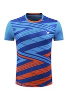 Wholesale jersey badminton new - 2018 new styles table tennis jersey Badminton T-Shirts