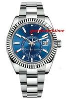 женщины женева оптовых-Розовое золото мужчины Женева часы стали зеленый Римский DialAAA женские роскошный бренд автоматический день дата женская мода мужские Reloj часы Наручные